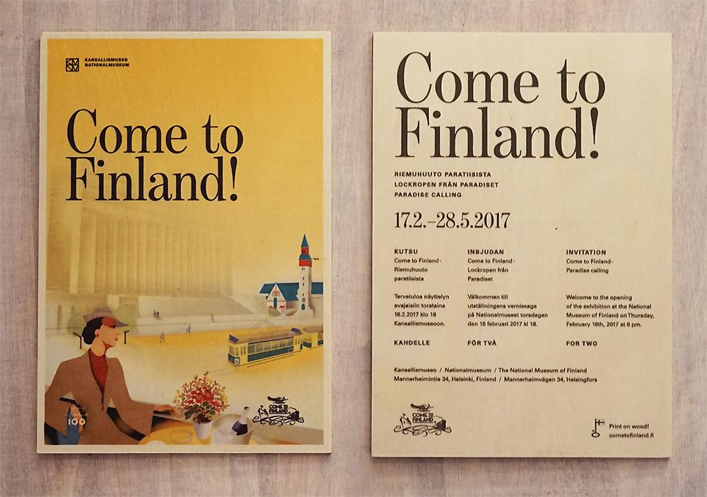 Einladung nach Finnland